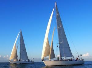 Location voiliers avec skipper maxi monocoque avec équipage