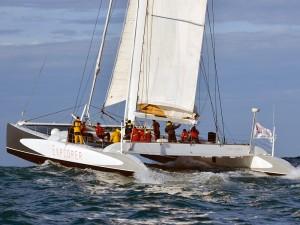 Racing Maxi Catamaran