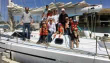 Sortie en mer voilier balade sur Groix