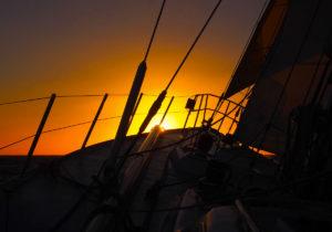 navigation vers l'archipel des açores