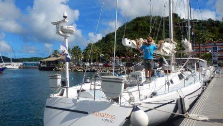 Croisière aux Antilles avec skipper