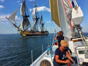 croisière fêtes maritimes de brest