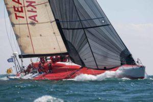 volvo 60 racing sailboat