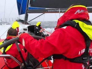 24H à bord d'un voilier de course